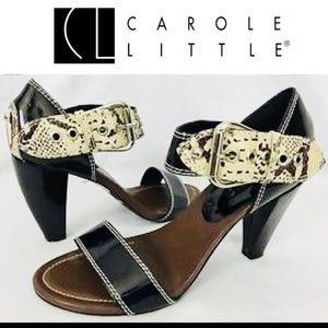 🆕 Colorblock Buckle Sandal👠 Carole Little